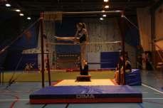 Compétition interne de gymnastique artistique