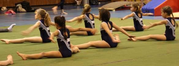 En tête compétition gymnastique interne
