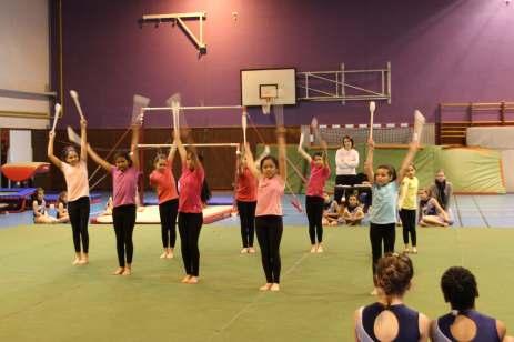 Entracte gymnastique rythmique